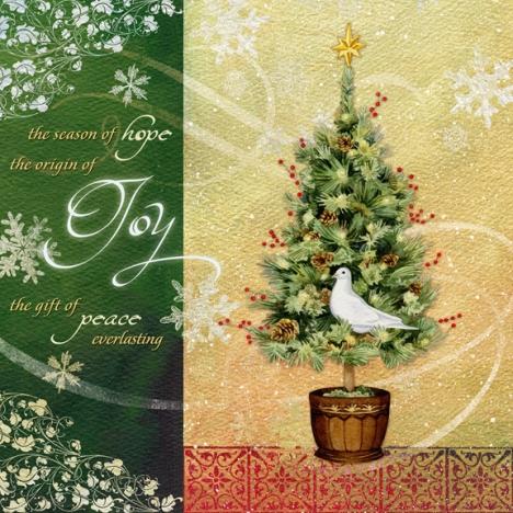 Topiary Christmas Tree